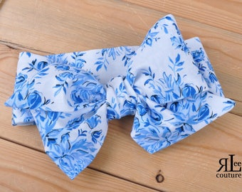 Mia Headwrap - Bow Headwrap - Head Wrap - Baby Headwrap - Hair Bow