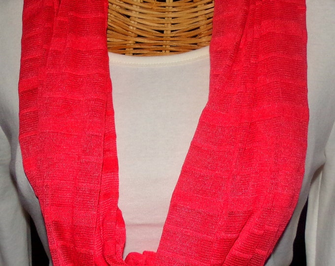 Coral Wrap Scarf