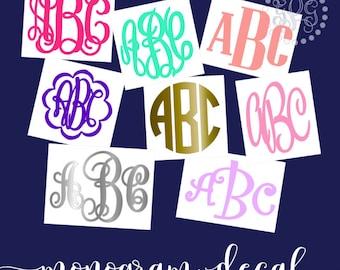 Yeti Decal, Yeti Decal for Women, Yeti Monogram, Monogram Decal for Yeti, Yeti Decal for Men, Yeti Cup Decal, Yeti Decal Glitter