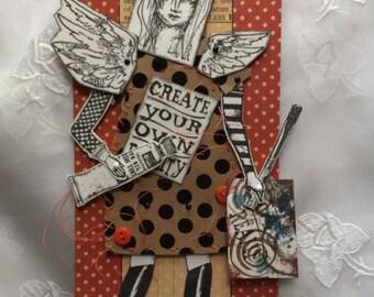 Handmade paper creations by parispluie on etsy for Handmade paper creations
