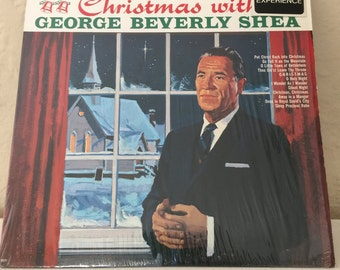 George Beverly Shea Christmas With George Beverly Shea Vintage Vinyl 33rpm Record Album 1964 RCA Records CAS-850(e)