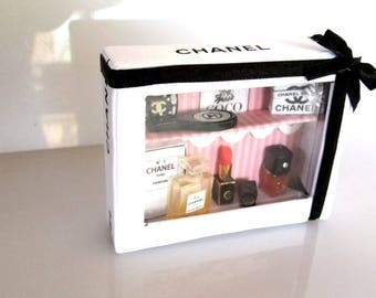 miniature chanel inspired  globe