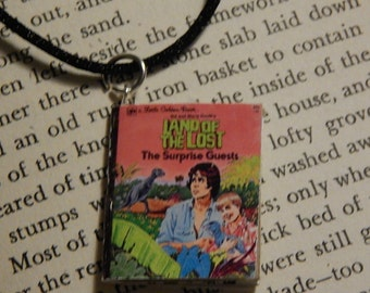 The Land of the Lost Golden Book Necklace