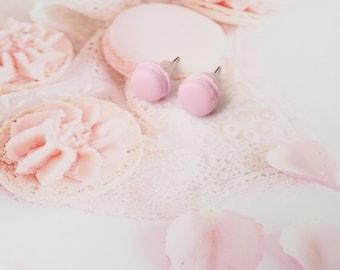earrings macarons polymer clay