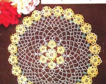 "1953 ""Doilies  Edgings to Tat & Crochet, Lily Design Book No. 70"" - Digital Ebook Instant Download PDF - Tatting Patterns - Antique Crochet"