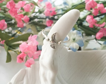 Sparrow Ring - Sterling Silver - Bird Ring - Bird - Sparrow - silver ring - sterling silver ring