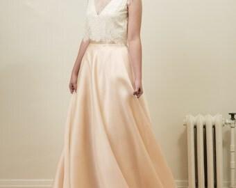 Silk Organza Bridal Skirt - Cendrillon