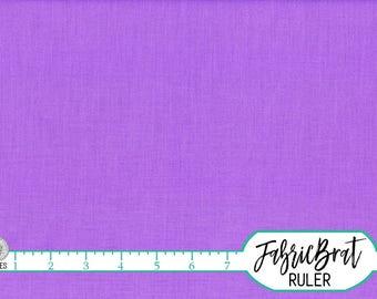 KONA COTTON CROCUS Solid Fabric by the Yard, Fat Quarter Robert Kaufman Violet Purple Solid fabric K001-142 100% Cotton Quilt Fabric w12-13