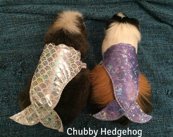 Mermaid tail costume  for Hedgehog / Guinea pig