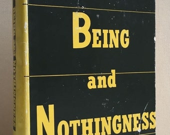 sartre  being and nothingness by jean paul sartre 1956 philosophical library an essay on phenomenological ontology