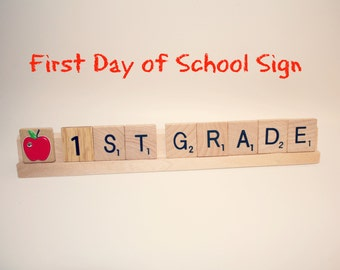 First Day Of School, First Day Of School Sign, First Grade Sign, Second Grade Sign, Back To School, Back To School Sign, School, Graduation