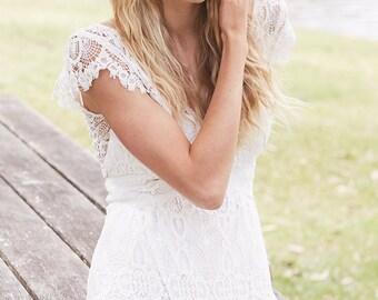 Willow Bohemian Wedding Gown