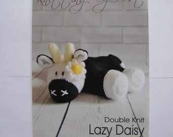 Lazy Daisy Knitting Pattern In DK