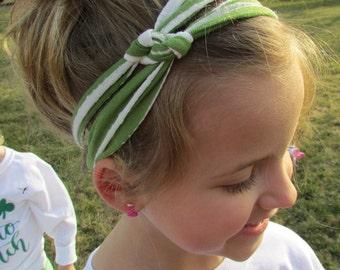 Spring Green turban