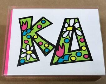 Kappa Delta Notecards