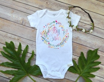 Rainbow Baby, Big Sister Shirt, Special Baby Gift, Rainbow Baby Gift, Big Sister shirt, Rainbow Sister Set, Big Sister Reveal,Rainbow sister