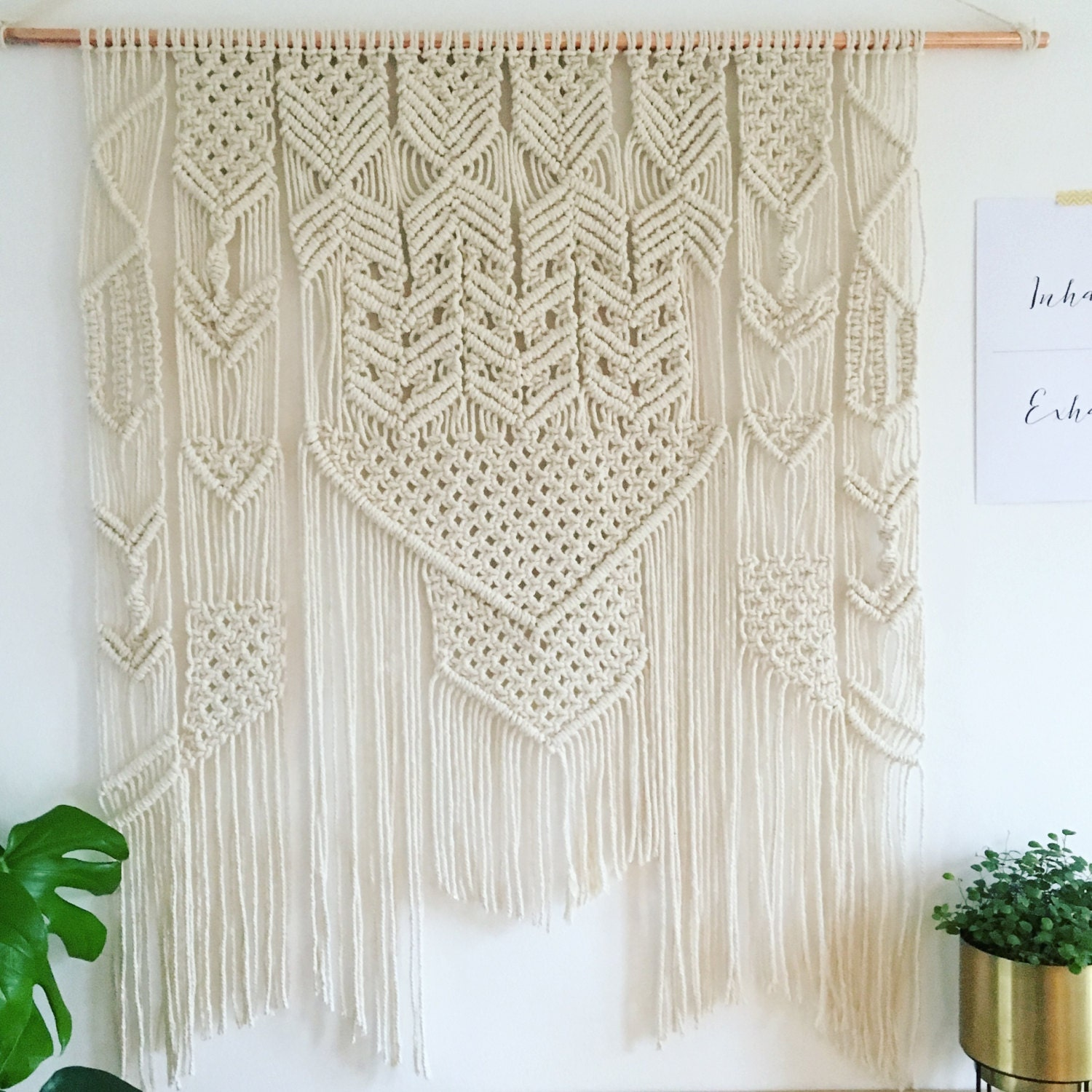 macrame large large macrame wall hanging bohemian wall decor wall 459