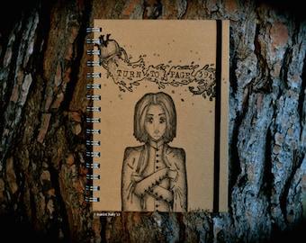Professor Snape Journal - Hand Illustrated