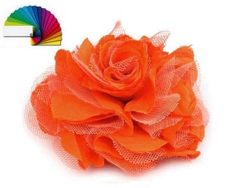 Flower for hair or brooch many colors