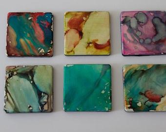 Abstract Design Coaster Set