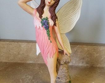 Hand-painted Ceramic Fairy.