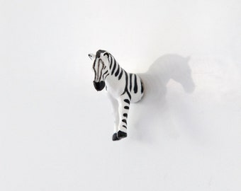 "Fridge Magnet ""Little zebra"""