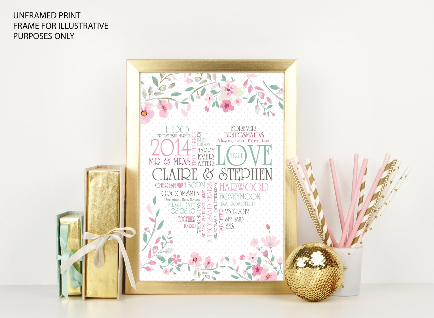 Daughter Wedding Gift: Wedding Gift Daughter Gift Son Gift Daughter In-law