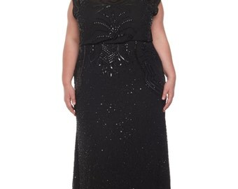 Art deco dresses plus size