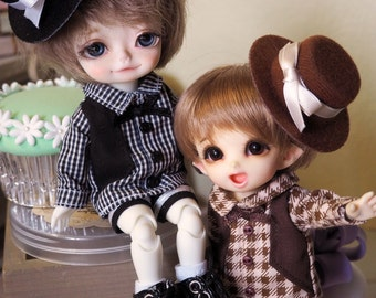 bjd doll outfit clothes - Cookies Set for lati yellow fl pukifee boy