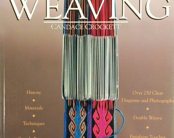 Book- Card Weaving by Cancace Crockett, Card Weaving Book, How to Cardweave, Tablet Weaving