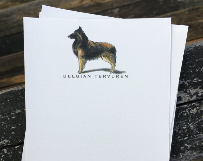 Belgian Tervuren Note Card Set