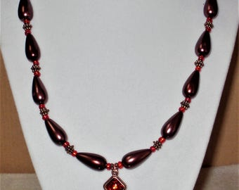 Chocolate Drops Necklace