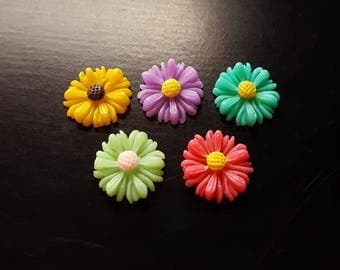 Flower Floating Charm for Floating Lockets-1 Pc-Gift Idea for Women