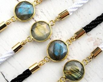 Labradorite Bracelet-Mothers Day Gift-Gemstone Bracelet-Gift for Mom-Natural Gemstone Jewelry- Gift for Her-Mothers Day Jewelry-Mom Gift