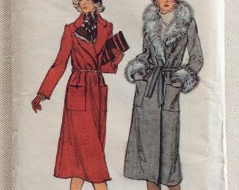 Vogue Pattern 9330 - Misses' Coat - Size 8 - UNCUT