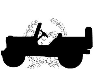 Old truck vintage jeep svg automatic download Valentine's Christmas Sports Mom