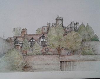 English Castle -Arundel