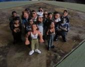 Little Homies lot Diorama figurines