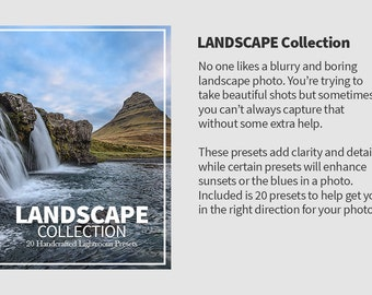 20 Premium Lightroom Landscape Presets For Nature Photography - Beautiful Landscapes