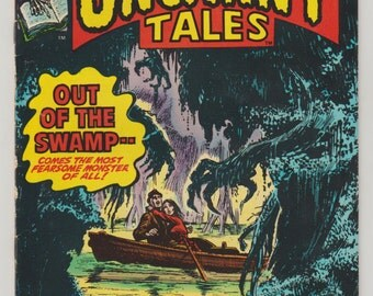 Uncanny Tales: Vol 2, 2, Bronze Age Comic Book. FN (6.0). February 1974. Marvel Comics