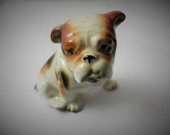 Vintage Bull Dog Figurine