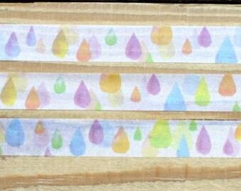 Rain washi tape