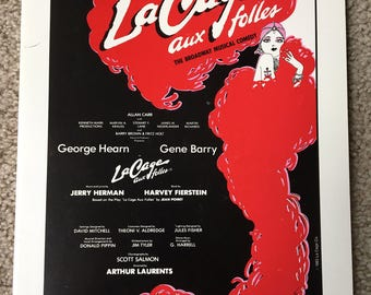 La Cage Aux Folles, Vocal Selections, Musical Theater, Broadway, Songs, Voice and Piano, Broadway Selections, Theater Songs, Music Book