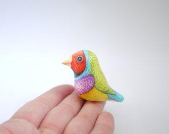 Gouldian Finch Ornament