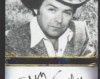 Mickey Gilley Authentic AUTOGRAPHED Custom Trading Card