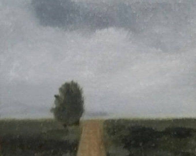 Solitary Road - Oil Painting
