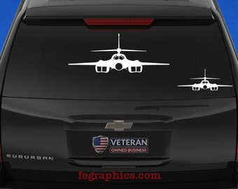 B-1B Lancer - Front - Vinyl Decal