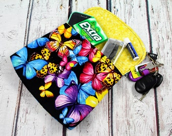 baby carrier pouch - butterfly baby carrier bag - baby carrier pocket - baby carrier accessories - baby wearing hip pouch - waistband pouch