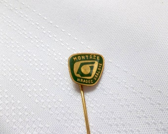 Montaze Hradec Kralove pin, Czechoslovakia Pin