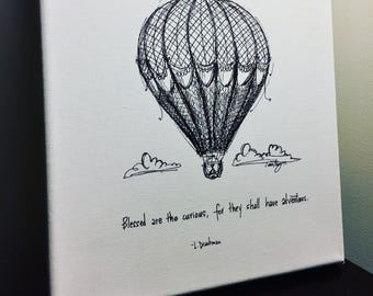 Fine art paper print- Blessed are the Curious